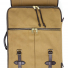 Filson Rugged Twill Rolling 4-Wheel Check-In Bag 20069584-Tan front detail