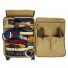 Filson Rugged Twill Rolling 4-Wheel Check-In Bag 20069584 inside with luggage