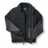 Filson Sherpa Fleece Jacket Black front open