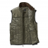Filson Ultralight Vest Olive Gray front half open