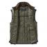 Filson Ultralight Vest Olive Gray front open