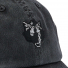Filson-Washed-Low-Profile-Cap-20204530-Faded-Black-Wolf-embroidered-graphic-close-up