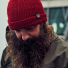 Filson Watch Cap Red lifestyle