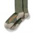 Filson X Country Outdoorsman Sock Green/Blaze detail