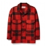 Filson Mackinaw Wool Cruiser Red/Black Plaid