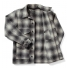 Filson Mackinaw Cruiser gray/charcoal open