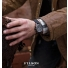 Filson Mackinaw Field Chrono Watch Gray Lifestyle