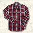 Filson Scout Shirt 20049628-Red/Black/White lifestyle