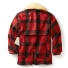 Filson Wool Packer Coat Red/Black achterkant