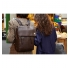 """Knomo Hudson 15"""" Leather Backpack Brown Lifestyle"""