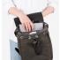 Sandqvist Alva Backpack Beluga binnenkant met laptop