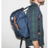 Sandqvist Hans Blue Backpack side men