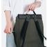 Sandqvist Hege Backpack Beluga side zipper