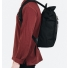 Sandqvist Silas Backpack Black side men