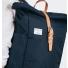 Sandqvist Silas Backpack Blue back close up