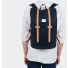 Sandqvist backpack Stig Large Blue back