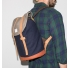 Sandqvist Stig backpack Multi Blue/Grey man