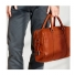 Shinola Slim Briefcase Bourbon Carrying