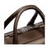 Shinola Slim Briefcase Deep Brown Handle