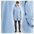 Stutterheim Stockholm Raincoat Blue Fog men effect