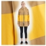 Stutterheim Stockholm Raincoat Large Stripe Sand women effect