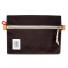Topo Designs Accessory Bags Canvas Black Medium