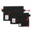 Topo Designs Accessory Bags Black Set of 3