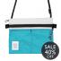 Topo Designs Accessory Shoulder Bag White/Turquoise Sale