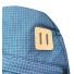 Topo Designs Daypack Blue/White Ripstop detail top