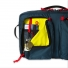 Topo Designs Global Briefcase 3-day Navy front pocket