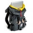 Topo Designs Klettersack 22L Charcoal inside with laptop