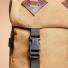 Topo Designs Klettersack Heritage Dark Khaki Canvas/Dark Brown Leather detail