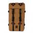 Topo Designs Klettersack Heritage Dark Khaki Canvas/Dark Brown Leather front
