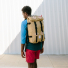 Topo Designs Klettersack Khaki lifestyle carrying
