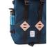 Topo Designs Klettersack 22L Storm/Khaki Leather bottle
