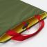 Topo Designs Laptop Sleeve Olive detail inside