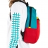 Topo Designs Light Pack White/Red/Turquoise side