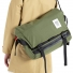 Topo Designs Messenger Bag Olive wearing