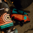 Topo Designs Mini Quick Pack Turquoise/Clay lifestyle