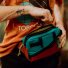 Topo Designs Mini Quick Pack Turquoise/Clay lifestyle