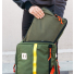 Topo Designs Pack Bag Olive packing