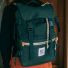 Topo Designs Rover Pack Canvas Forest lifestyle