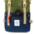 Topo Designs Rover Pack Classic Olive/Navy front pocket