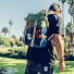 Topo Designs Rover Pack Classic Olive/Navy carrying lifestyle