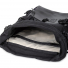 Topo Designs Rover Pack Heritage Black Canvas/Black Leather