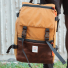 Topo Designs Rover Pack Heritage Duck Brown/Dark Brown Leather