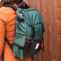 Topo Designs Rover Pack Heritage Forest/Brown Leather