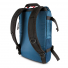Topo Designs Rover Pack Heritage Navy/Brown Leather back