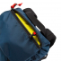 Topo Designs Rover Pack Heritage Navy/Brown Leather top pocket