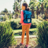 Topo Designs Rover Pack - Mini Blue lifestyle